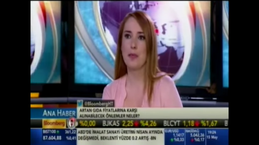 Bloomberg TV - Ana Haber ( 15.05.2015 )